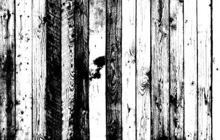 Grunge Black and White Distress Texture wooden slats texture background.