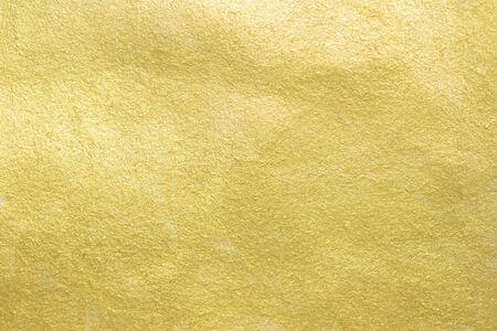 Détails de l'abstrait de texture d'or. Banque d'images