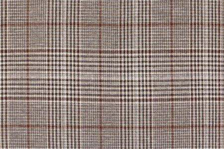 Brown plaid, geometric checkered for wallpaper clothes fabric texture background.