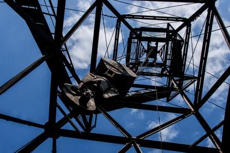 polea: polea de grúa torre