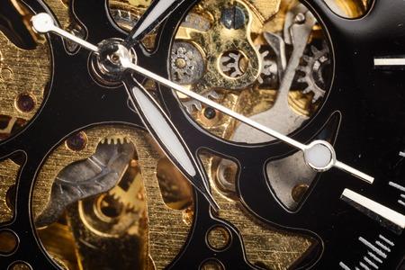 Luxe horloge onderdeel. Gemaakt in Zwitserland. Horloge
