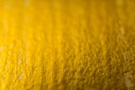 Golden Painting on Wooden Wall Texture Background. - image Фото со стока