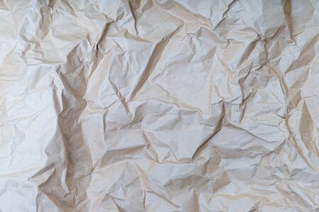 wrinkled paper texture or background - image Stock Photo
