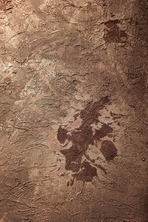 Texture decorative Venetian stucco for backgrounds - Toned Image
