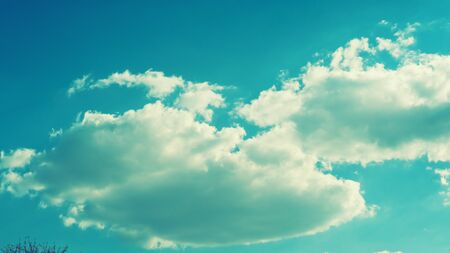 Sky with beautiful clouds weather nature cloud blue