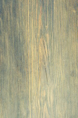 Top view on patinated brushed wooden texture. - Image