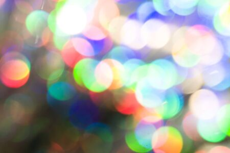 Colorful holographic background. Modern foil, futuristic blurred template. Neon pastel, hologram and rainbow colors. Abstract gradient. Bright and shiny hipster style for covers. Glass reflections Standard-Bild