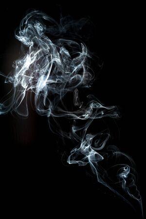 smoke cloud with black background. fog texture - image Standard-Bild - 150222711