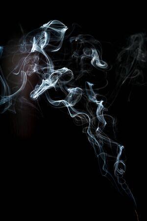 smoke cloud with black background. fog texture - image Standard-Bild - 150222712