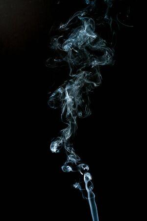 smoke cloud with black background. fog texture - image Standard-Bild - 150222713