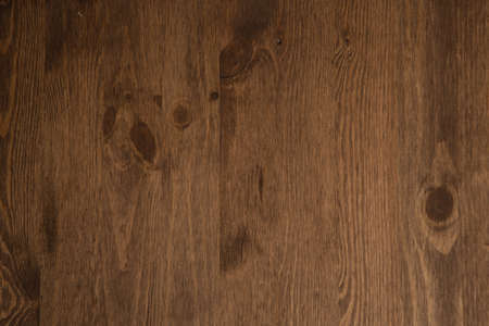 Dark brown wood plank wall texture background - image