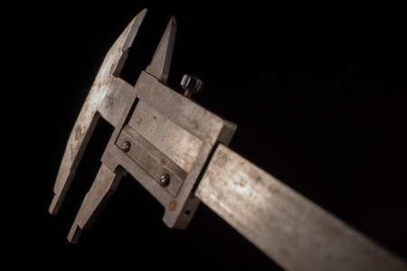 Old tools in front of a black background Zdjęcie Seryjne