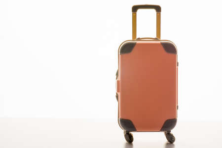 Luggage concept with case on the white background Stock fotó - 155359149