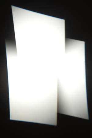 abstract white rectangles on a black background. can be used as a mask by the designer
