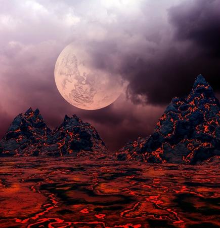 volcanoes on the islands