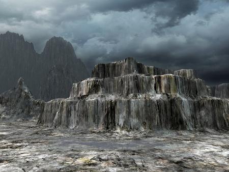desolation: colorful fantasy landscape