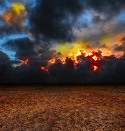 Krajobraz Fantasy Zdjęcie Seryjne