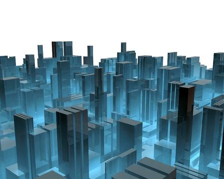 3 d の都市