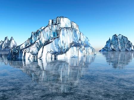 abandonment: Ice desert