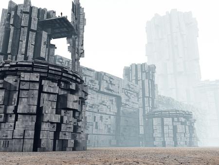 fantasy world: 3d Fantasy landscape