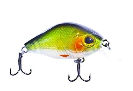 color image fish hook: Colourful fishing bait Stock Photo