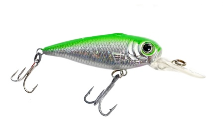 jigging: Colourful fishing bait Stock Photo