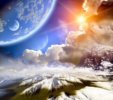 desolation: 3d Fantasy landscape