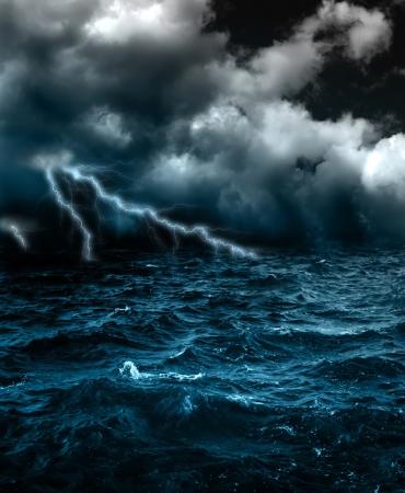 ひどい嵐 写真素材