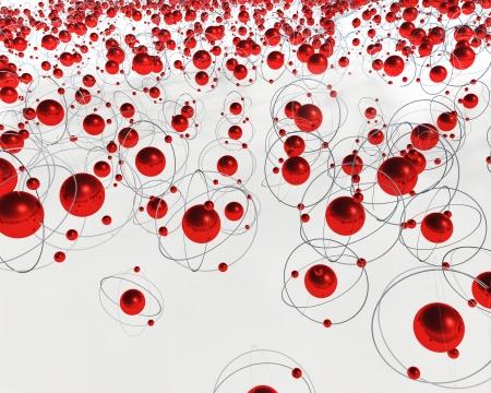 3D Molecule Stock Photo - 16400529