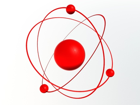 3D Molecule Stock Photo - 16491265
