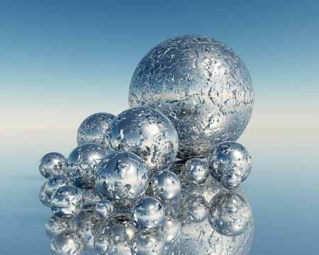 3D Balls Stock Photo - 16669045