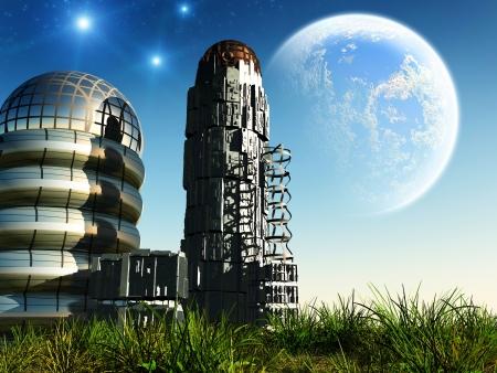 Space landscape photo