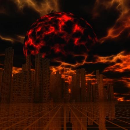 Apocalypse Stock Photo - 16749957