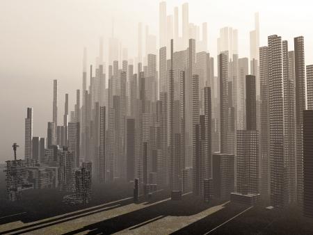 Dark fantasy landscape Stock Photo - 17005718