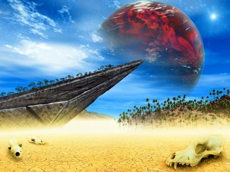 brainpan: Fantasy landscape