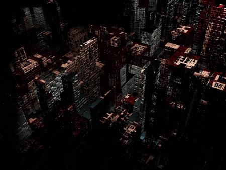 Dead city Stock Photo - 18178354