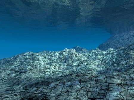 3D Ocean floor photo