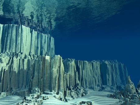 Piętro Ocean 3D Zdjęcie Seryjne