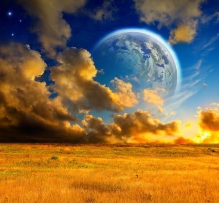 fantasy landscape: Fantasy landscape
