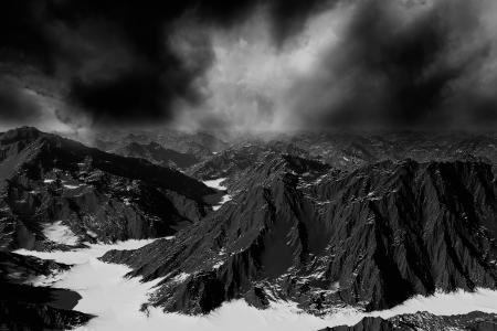 Fantasy landscape photo