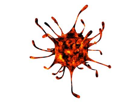 killer cells: Virus Stock Photo