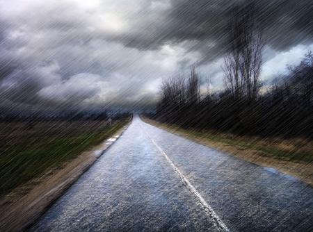 Regen Standard-Bild - 20421771
