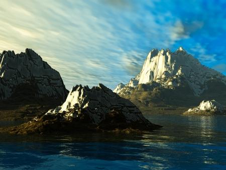 nether: Fantasy landscape