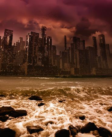 City apocalypse  photo