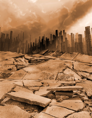 Erdbeben Standard-Bild - 26041251