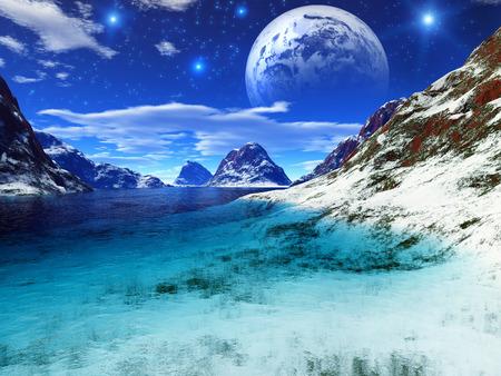 lifeless: Fantasy landscape