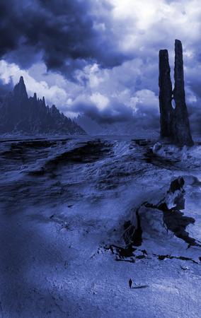 cranny: Fantasy landscape