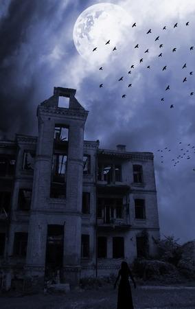 harridan: Fantasma Foto de archivo