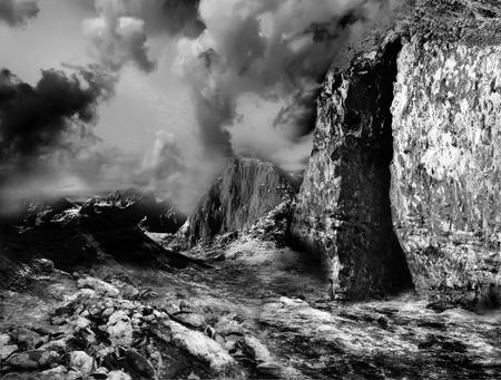 solitariness: Fantasy landscape