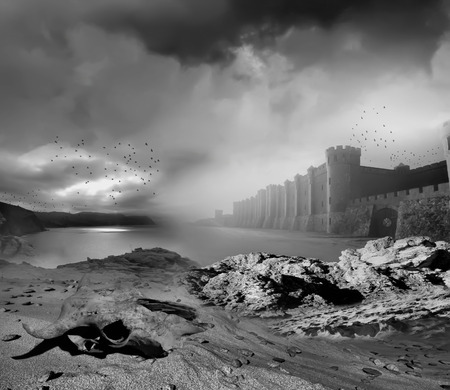 desolation: Fantasy landscape